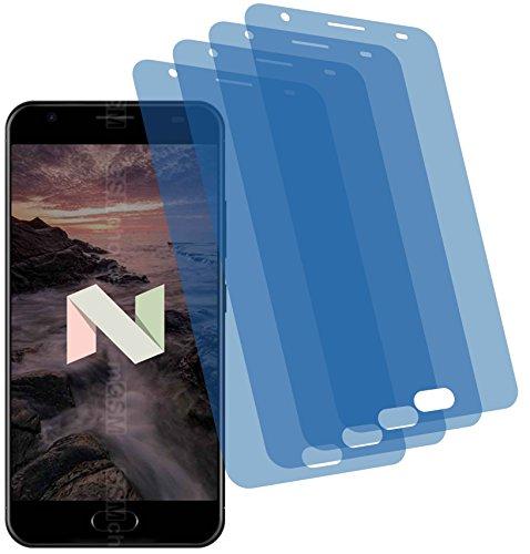4ProTec I 4X Crystal Clear klar Schutzfolie für Ulefone Power 2 Premium Bildschirmschutzfolie Displayschutzfolie Schutzhülle Bildschirmschutz Bildschirmfolie Folie