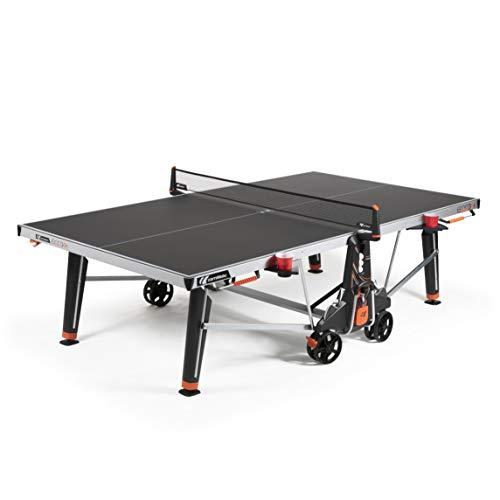 Cornilleau 600X Outdoor Table de Ping Pong d'Extérieur (Noir)