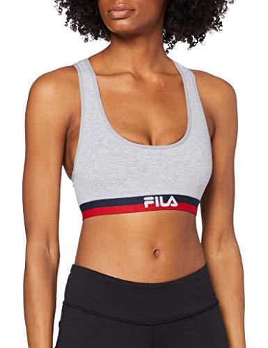 Fila FU6048, Sports Bra Donna, Grey, M