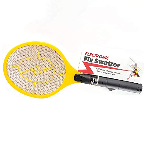 Harbor Freight Electronic Fly Swatter | 3 Layers Racket Style | Indor & Outdor