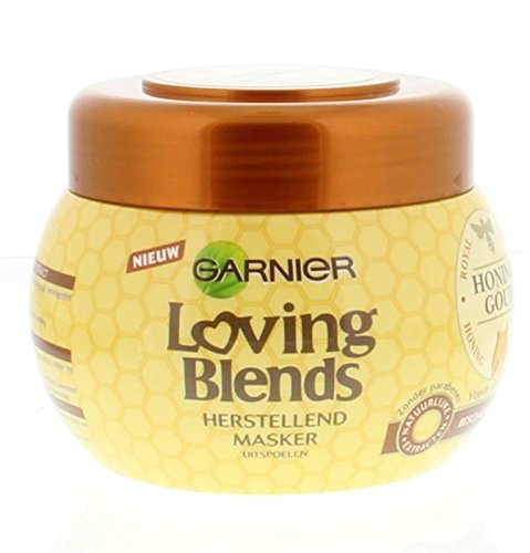 Garnier Loving Blends Masker Honinggoud, 300 Ml