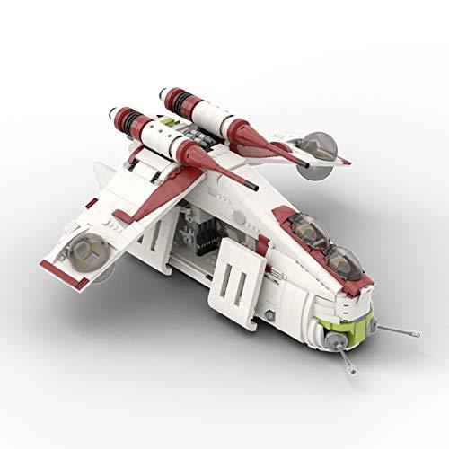 Star Wars Republic Gunship Based Set 75021 Building Kit MOC Model Toys Gift to Adults (1707 PCS)