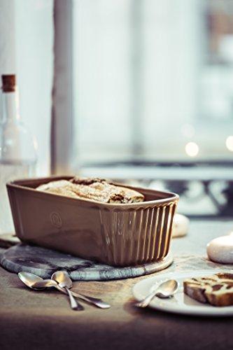 Emile Henry eh346180Stampo Cake Ceramica, Ceramica, Grand Cru, 31 x 13 x 9 cm