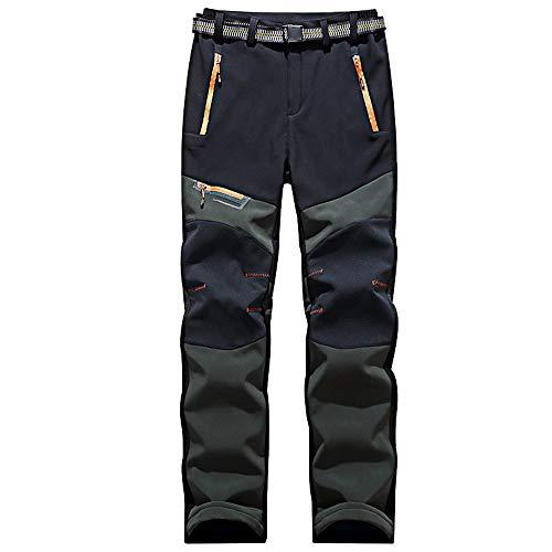 O&K Extérieur Rapide à Sec Randonnée légère Pantalon Respirant Camping Trekking Course en Montagne Pantalon Marche de vélo pour Hommes,Style 2,2XL