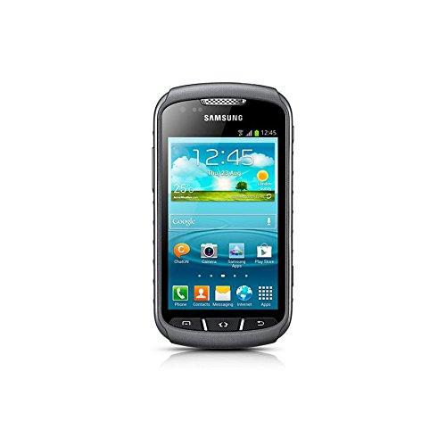 Samsung GT-S7710TAADBT Galaxy X Cover 2 Smartphone (10,2 cm (4 Zoll) Display, Cortex A9 Prozessor, 1GHz, 4GB Speicher, 5 Megapixel Kamera, Android 4.1) schwarz