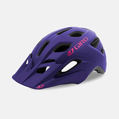 Giro Tremor MIPS Youth Visor MTB Bike Cycling Helmet - Universal Youth (50-57 cm), Matte Purple (2020)