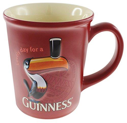 Guinness Red Toucan Geprägt Mug