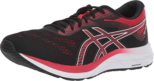 ASICS Men's Gel-Excite 6 Running Shoes, 11M, Black/Speed RED