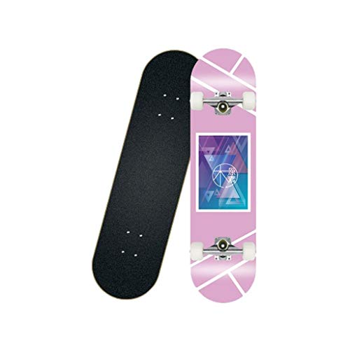 Amazing Deal Standard Complete Double Kick Skateboards 31x 8 Inch for Adult Beginner Teens Skate Pen...