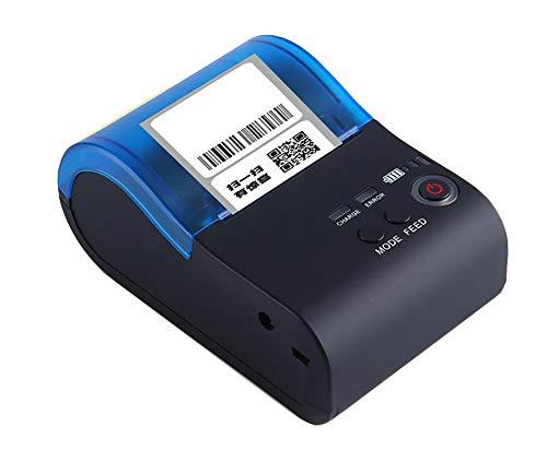 Etikettendrucker handgerät Multifunktions-Hochgeschwindigkeits-Ticketdruck Bluetooth-Thermo-Barcodedrucker Etikettierbelegdruck