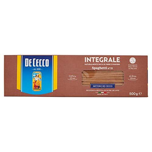 De Cecco Spaghetti Integrali 500 gr
