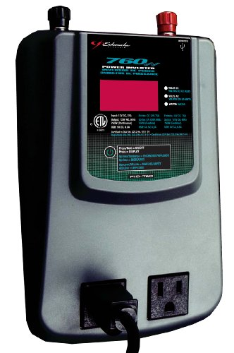 New Schumacher PID-760 760 Watt Power Inverter with Digital Display