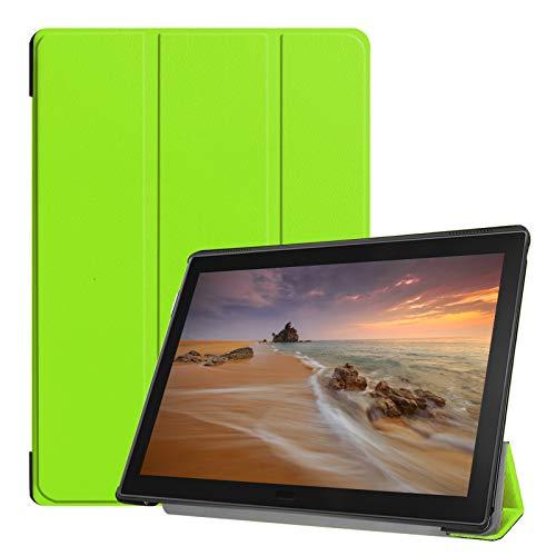Hülle für Lenovo Tab E10 TB-X104F 10.1 Zoll Schutzhülle Tasche mit Standfunktion & Auto Sleep/Wake Funktion Grün