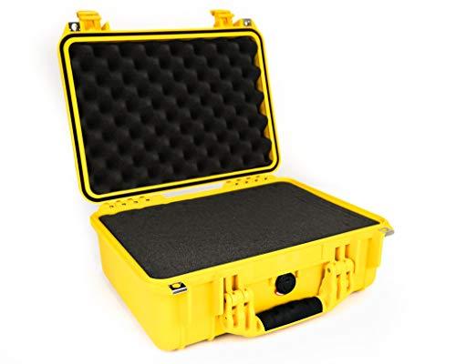 Peli 1450 - Maleta con espuma para cámara, amarillo
