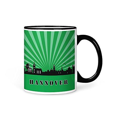 aina Tasse Kaffeetasse Hannover Skyline