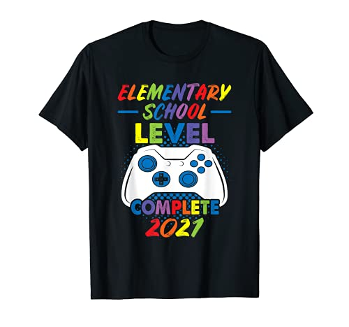 Nivel Elemental School completa 2021 Gaming Camiseta