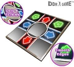 New Dance Dance Revolution Metal Dance Pad V 3.0 for PS/PS2 Smooth Edges & 4 Screws Design