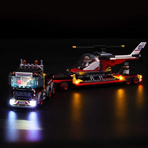 LIGHTAILING Licht-Set Für (City Schwerlasttransporter) Modell - LED Licht-Set Kompatibel Mit Lego 60183(Modell Nicht Enthalten)