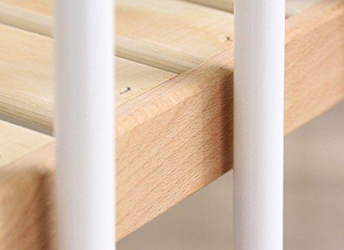 ファルスカfarska【工具不要】つながる!ひろがる!木製ミニベッドミニジョイントベッドネオホワイト746052