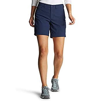 Eddie Bauer Women s Rainier Shorts Med Indigo 8