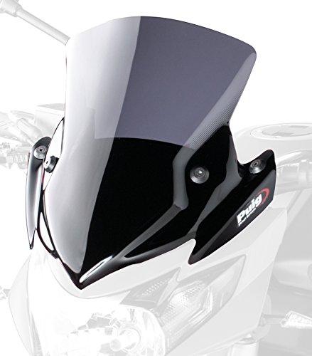 Preisvergleich Produktbild Puig 5646F Windschutzscheibe New Generation Suzuki GSR750 11-13 Transparent / Dunkelgrau Rauch