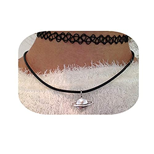 Youkeshan Lindo Saturno Collar Tumblr Estilo