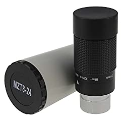 Astromania 1.25 inch 8-24mm Zoom Eyepiece for Telescope