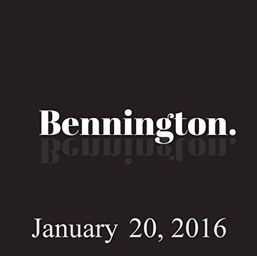 Bennington, Chris Gethard, January 20, 2016 audiobook cover art