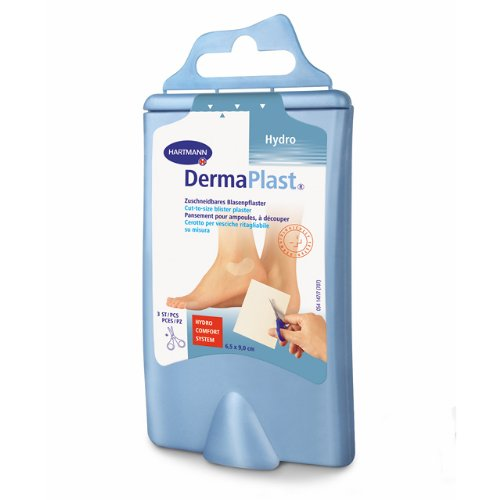 Hartmann DermaPlast Cut-to-Size zuschneidbares Blasenpflaster inkl. Schere