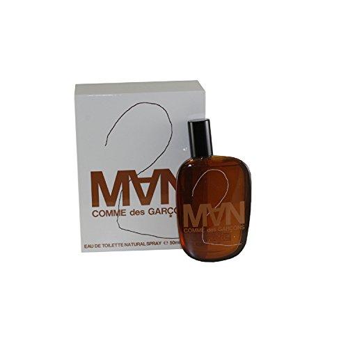 Comme des Garcons 2 homme/men, Eau de Toilette, Vaporisateur/Spray, 1er Pack (1 x 50 ml)