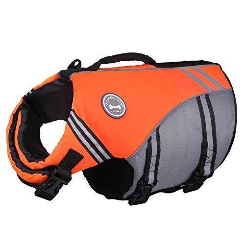 Vivaglory New Sports Style Ripstop Dog Life Jacket Safety Vest