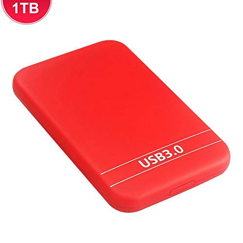 mysticall Unidad de Disco Duro Externo USB 3.0, 500GB / 1TB / 2 TB de Disco Duro Externo en Disco, Almacenamiento en Disco Duro portátil para Tablet PC TV, Compatiable con Varios Sistemas Way
