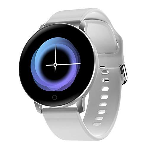 Herren-Smart Watch 1.3 Zoll-Farbbildschirm Fitness Pulsmessgerät Ultra Light Einzigartig Smart Watch, Grau, One Size