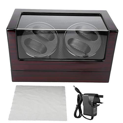 Watch Shaker, 4 Gitter automatische Rotation Uhren Furling Box, Aufbewahrungsbox für Organizer und Uhren, 1.00V