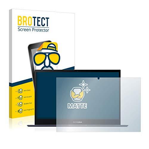 BROTECT Entspiegelungs-Schutzfolie kompatibel mit Asus VivoBook Flip 14 TM420IA-EC069T Bildschirmschutz-Folie Matt, Anti-Reflex, Anti-Fingerprint