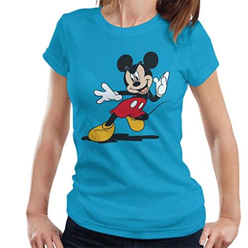 Disney Mickey Mouse Pounce Women's T-Shirt