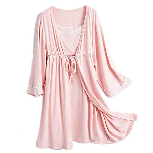 Camison Lactancia 2 Unids/Set Pijamas De Embarazo Ropa De Dormir Lactancia Mujer...