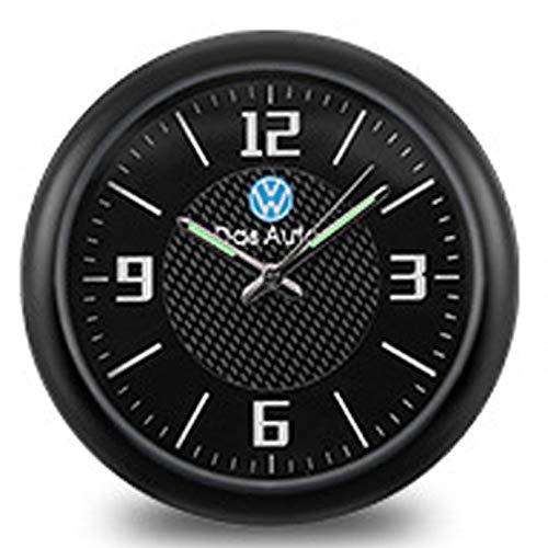JHEK Auto Uhr Klein Auto Armaturenbrett Trim Clock Uhr Zum Aufkleben Mit Vent Clip Wählen Sie Aus Einer Vielzahl Von Marken Quarzoberfläche Legierungsmaterial 2020 Neues UpgradeVolkswagen