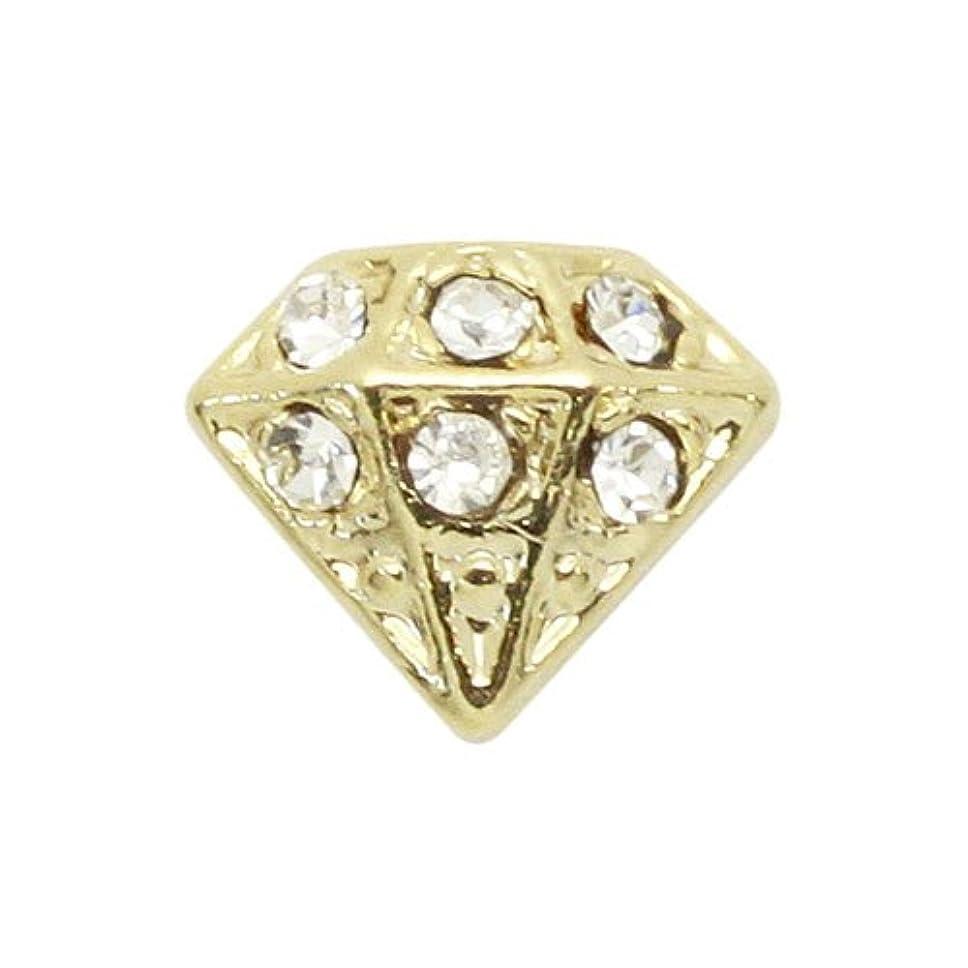 吸うカラス平和的エムプティ ネイルパーツ ダイアモンド A191 1個