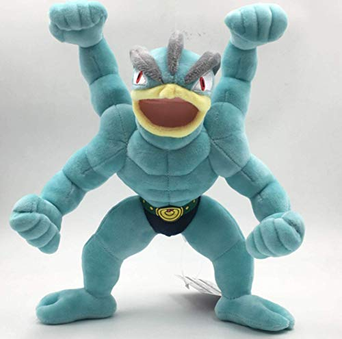 Anime Game Pokemon Series Hercules Muñeca Doll Cumpleaños Regalo Juguete 30 cm, Niños Cumpleaños Laimi