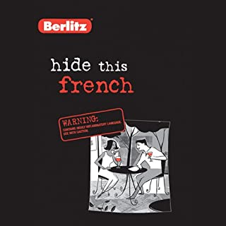 Hide This French audiobook cover art