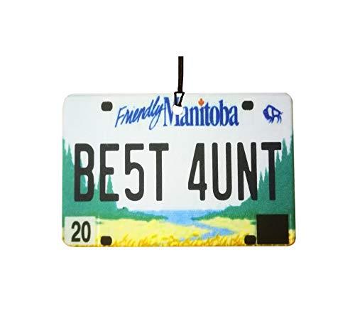 Ali Air Freshener Manitoba - Best Aunt Nummernschild Auto Lufterfrischer