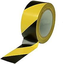 Black & Yellow Hazard Warning Safety Stripe Tape • 2
