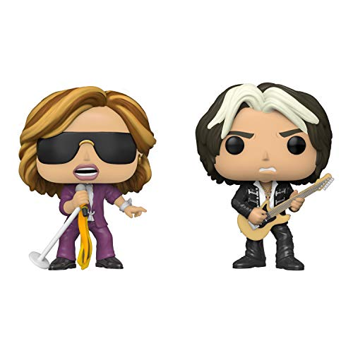 Boneco Pop Funko Aerosmith Steven Tyler + Joe Perry