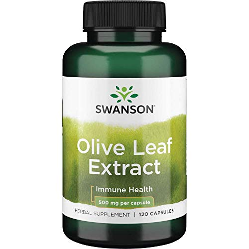 in budget affordable Swanson Olive Leaf Extract Supplement: 500% Olive Leaf Extract Capsule 20% Oleuropein –…