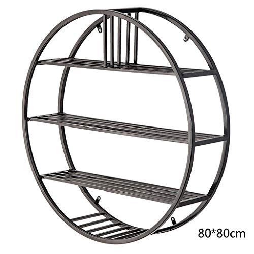 WYJW Iron art Shelf Decoratieve plank wandplanken, meerlaagse scheidingen van opslag sneakers. Plank (stijl: A1)
