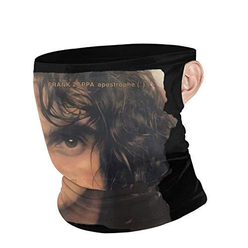 Ngxianbaimingj - Diadema multifunción para el cuello, unisex, calentador de cuello, pasamontañas para la cara, gorro, pañuelos, frank Zappa apóstrophe