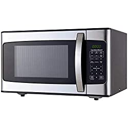 commercial Hamilton Beach Microwave Oven 1.1cc Ft – Stainless Steel medium sized microwaves
