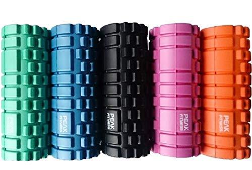 Peak Fitness, Trigger Point massaggi Foam Roller disponibile in diversi colori - nero, arancione, rosa, blu o verde. Cerco Schiuma Roller, Roller Muscolo, Foam Rollers Fisioterapia o indietro Foam Roller? Esperienza mal di schiena o dolore al collo. Questo Roller muscolare Foam è eccellente come schiuma rullo posteriore, per la terapia fisica o come un rullo di massaggio di schiuma. NESSUN RISCHIO. Garanzia completa gratuita Soddisfatti o Rimborsati (Verde)