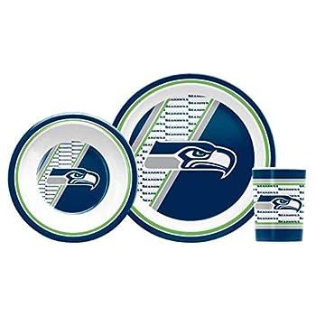 NFL Seattle Seahawks Children s Dinner Set